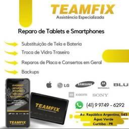 Teamfix assistência técnica Especializada Apple, Samsung,LG,Motorola.