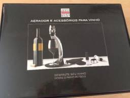 Kit Aerador para vinhos Creative Collins Kitchen