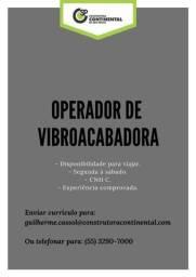Operador de Vibroacabora