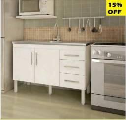 Armário p/cozinha MGM Flex 1,20 BR