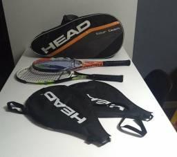 Raquetes e Bolsa de Tênis Head