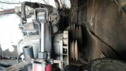 Compressor completo do ar condicionado onibus volvo b10m