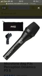 Microfone AKG na Caixa, nunca usado