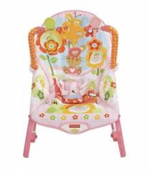 Cadeira fisher price rosa