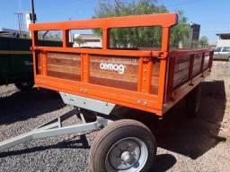 Carreta Agrícola - Cemag (capacidade: 6 ton.)