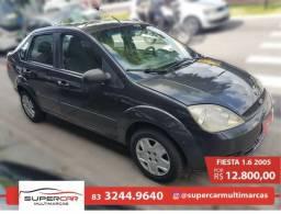 Fiesta Sedan 1.6 - 2005 ( Completo ) - 2005