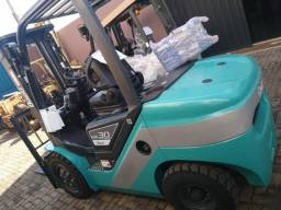 Empilhadeira Diesel Triplex 3Ton Zero!!!