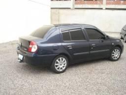 Renault Clio Sedã 2008 completo com GNV - 2008