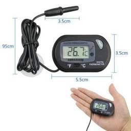Termômetro Digital De Alta Precisão Para Aquários, Fontes E Lagos