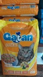 Ração Gatan Mix 15 Kg adulto Super oferta!!! 45,00