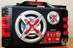Frete grátis! Caixa de som amplificada Amvox 1200W