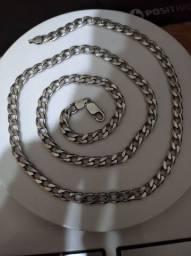 Corrente de prata 960 - 70cm (55g)