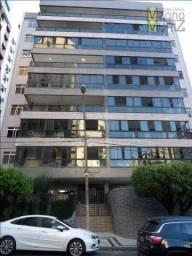 Apartamento com 3 dormitórios para alugar, 167 m² por R$ 1.650,00/mês - Meireles - Fortale