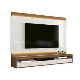 Painel para TV Savoy Off White com Naturale EDN Móveis