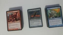 Aceito propostas - Lote De Cartas De Magic The Gathering - Kamigawa