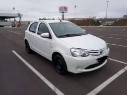 Toyota Etios entrada de 11 mil + 25 de mil sem juros ( OPORTUNIDADE)