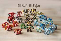 Gormits Originais - Kit com 28 peças