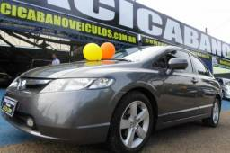 HONDA CIVIC 1.8 LXS 16V FLEX 4P MANUAL. - 2008