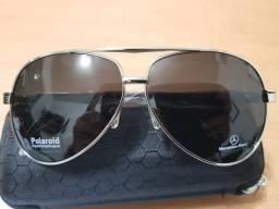 Lindos óculos(aviador) marca(Mercedes bens)lente polarizada UV-400 top