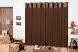 Pronta entrega lindas cortinas Veludo e microfibra Novas