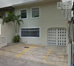Sobrado para alugar, 200 m² por r$ 11.000/mês - boqueirão - santos/sp