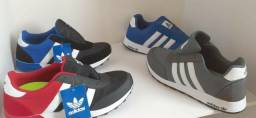 Tenis Adidas masculino,varias cores novo