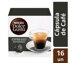 Kit 5 caixas de Cápsulas de café espresso Nescafé - Espresso intenso Arábica Robusta