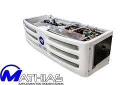 Equipamento de frio para bau 3/4 -18 graus acoplado e eletrico Mathias implementos