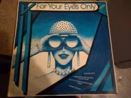 Lp Vinil For Your Eyes Only