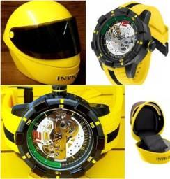 Lindo Relógio Invicta Original de Grife Automático Referência 26617 Mod. S1 Rally