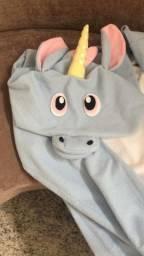 Pijama Kigurumi Fantasia Unicórnio