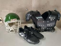Equipamentos futebol americano (usado)