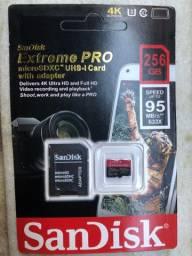 Cartão de Memória 256GB SanDisk Extreme Pro Micro Sdxc Similar