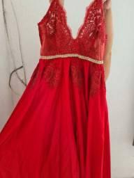 Vestido de Festa Vermelho (Negocio)