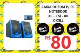 Caixa de Som p/ PC e Notebook X-CELL
