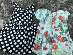 Roupinha infantil 2 vestidos 50,00