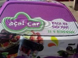 Carro pra venda de açai