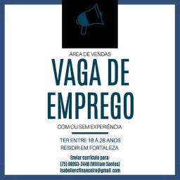 VAGA DE EMPREGO PARA VENDEDOR