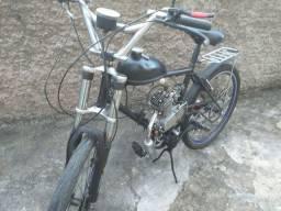 Bicicleta motorizada 80cc *