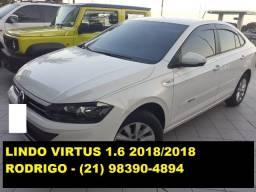 Novíssimo Virtus 1.6 MSI Flex 2018/2018. Oportunidade!
