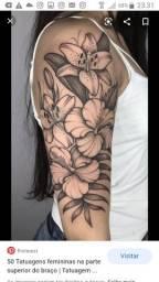 Black friday de tatuagem