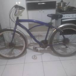 Bike freio a disco, bineu balao (roda grossa) , todas marchas . modelo kaissara