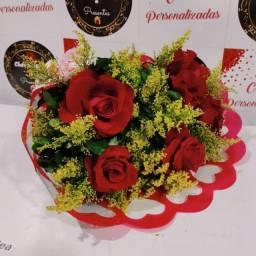 Buquê de Rosas Naturais