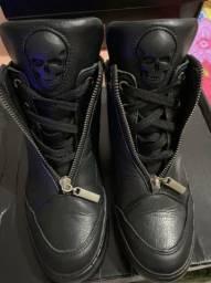 Tênis sneaker couro labellamafia TAM 34