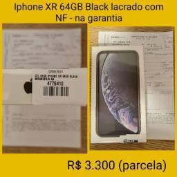 Título do anúncio: iPhone XR Apple 64GB Preto, Tela de 6.1?, Câmera - lacrado NF