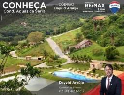 Terreno à venda no Cond. Águas da Serra - Bananeiras/PB