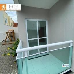 Apartamento com 2 dormitórios à venda, 55 m² por 133 MIL.