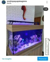 Luminária para aquários sob medida