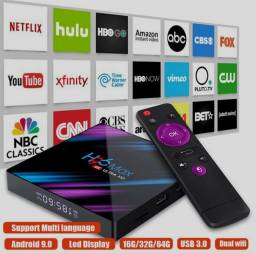 Título do anúncio: TV BOX H96 MAX 4K ANDROID 9 (32GB/4RAM) **IPTV**