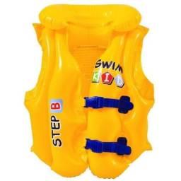 (WhatsApp) colete salva-vidas infantil swim kid 3 a 6 anos